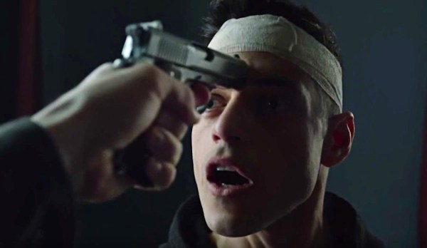 Rami Malek in Mr. Robot seizoen 2