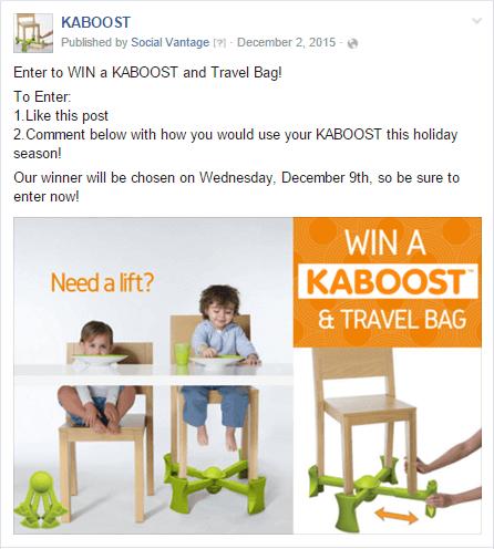Contest Blog - Kaboost Timeline Contest