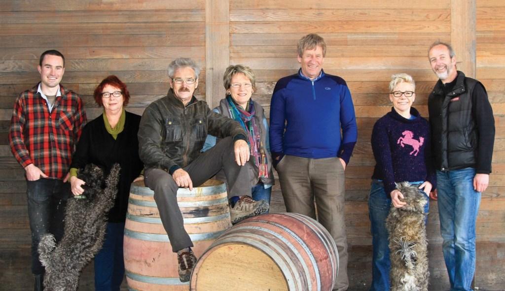 2014 Ata Rangi's Winery Team