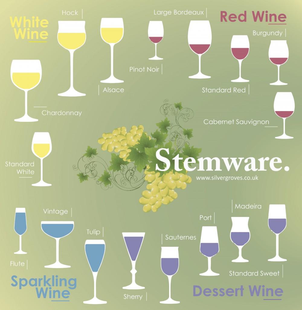 Wine Glassware & Stemware 101