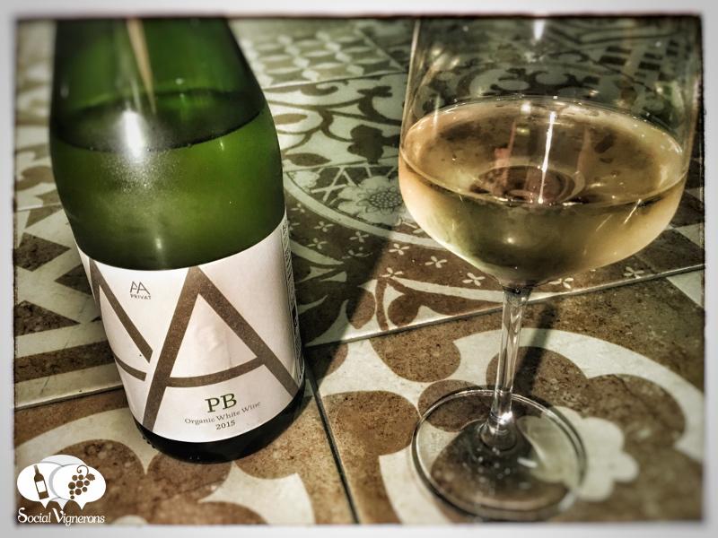 2015 Alta Alella PB Pansa Blanca Organic White, Catalonia