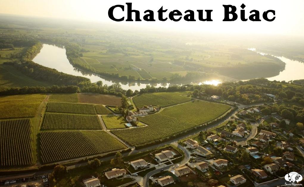 Chateau Biac Cadillac Cotes de Bordeaux Garonne River Vineyard Landscape Social Vignerons