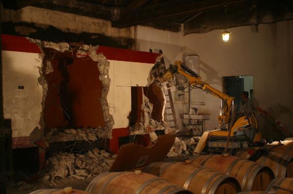 Chateau Biac Cadillac Cotes de Bordeaux restoration 1 Social Vignerons