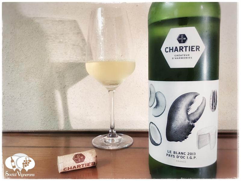 2013 Francois Chartier Le Blanc, Pays d'Oc I.G.P. France