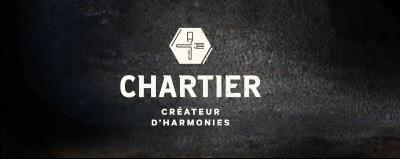 Francois Chartier Createur d'Harmonies website logo black white fork knife social vignerons