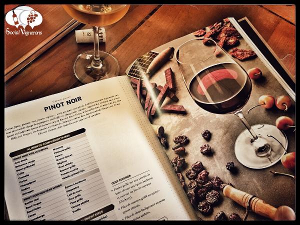 L'Essentiel de Chartier Francois Wine Pinot Noir page Food Pairing Book Best Sommelier World Social Vignerons