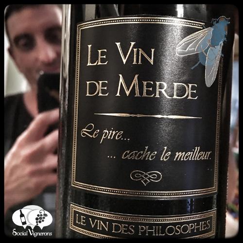 Le Vin de Merde Shit Wine Jean Marc Speziale France Julien Miquel tasting review social vignerons