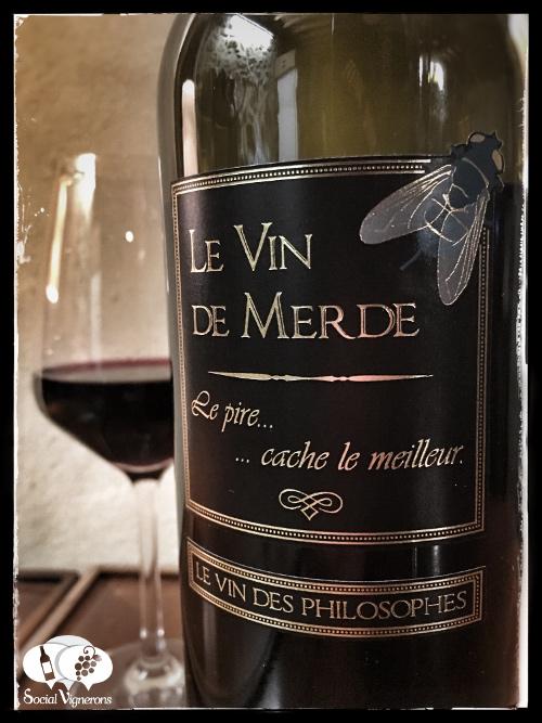 Le Vin de Merde Shit Wine Jean Marc Speziale France front label tasting review social vignerons