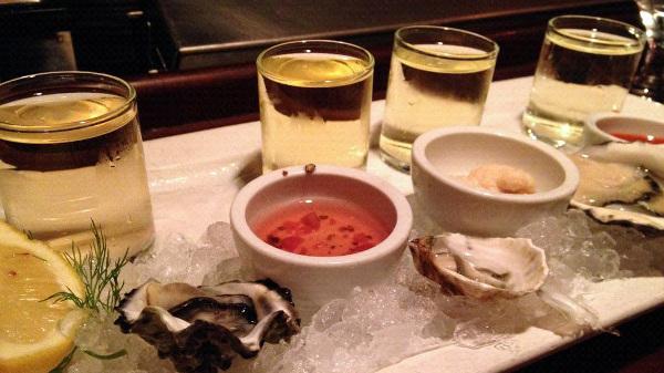 Wine Pairing seafood oysters salad social vignerons