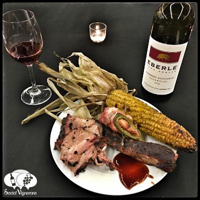 Delicious Texan Barbecue with Elberle Cabernet Sauvignon Social Vignerons