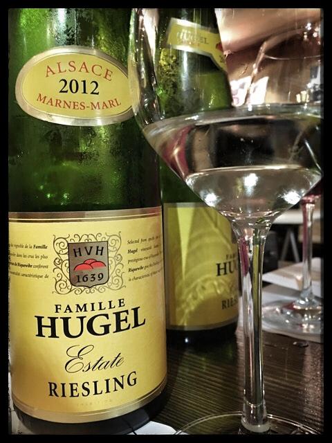 2012 Famille Hugel Riesling Estate, Alsace