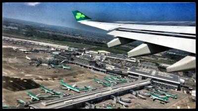 Julien Miquel Dublin AIrpor Airplane Aer Lingus