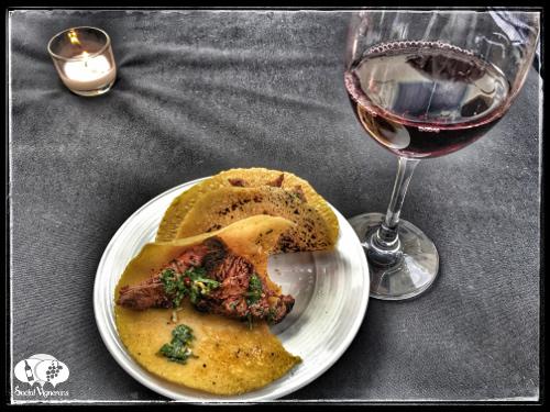 Tacos and California wine and food pairings Social Vignerons