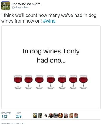 WineWankers Dog wines