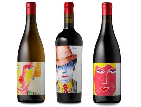 Francis Ford Coppola wine bottles Chardonnay Cabernet Sauvignon Pinot Noir labels