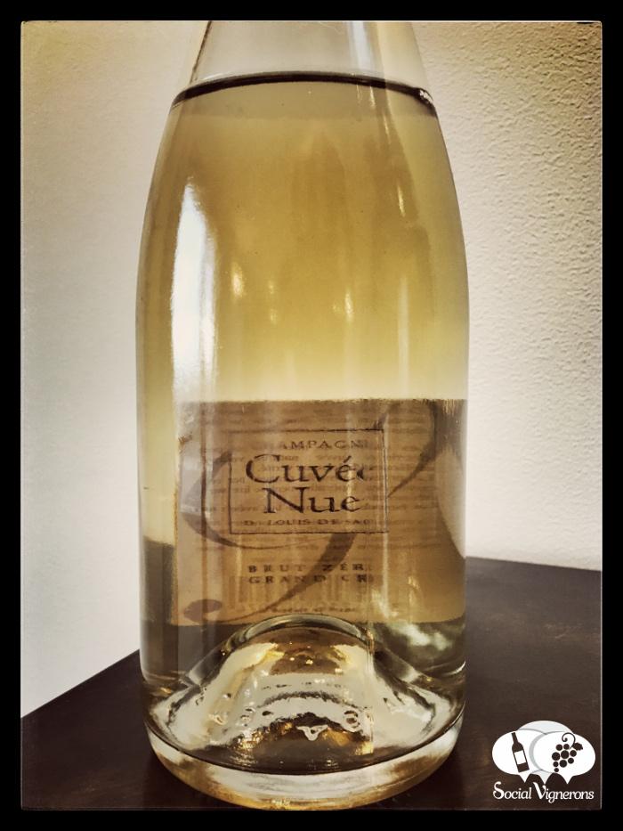 Louis de Sacy Cuvée Nue Brut Zéro, Non-Dosé Champagne