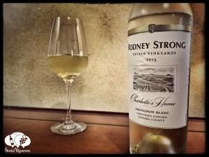 2015 Rodney Strong Charlotte's Home Sauvignon Blanc wine Northern Sonoma County
