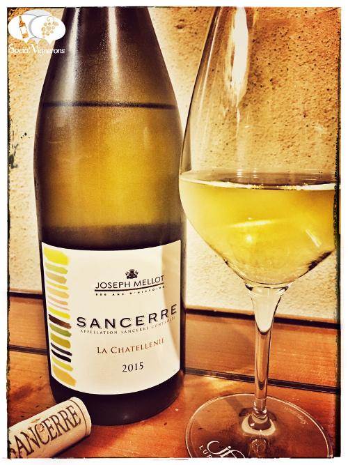 2015 Joseph Mellot Sancerre La Chatellenie wine front label loire upper valley social vignerons