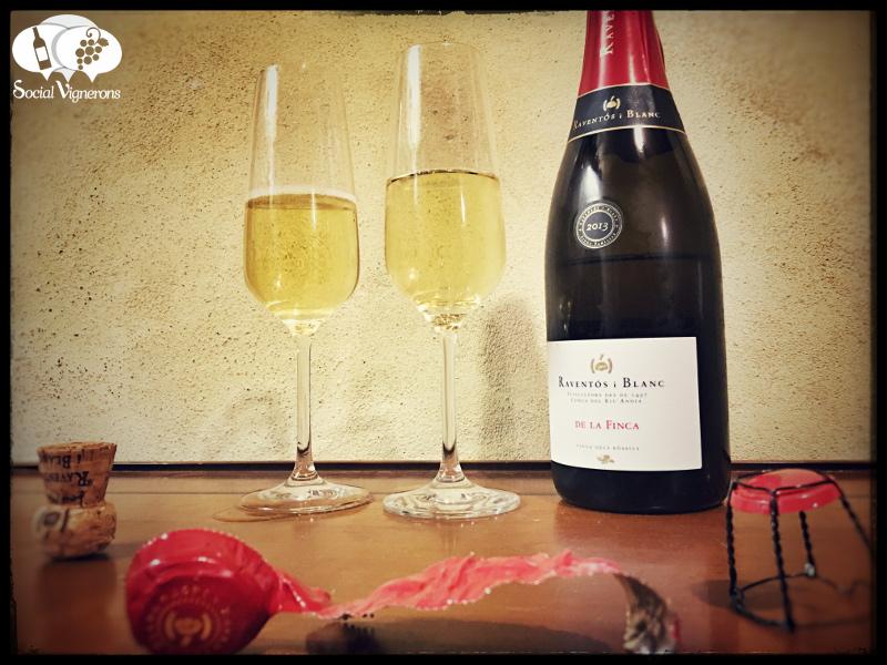 2013 Raventos i Blanc de la Finca, Sparkling Wine from Catalonia
