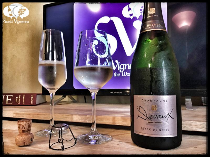 Champagne Devaux Blanc de Noirs Brut : Intriguing & Delicate !