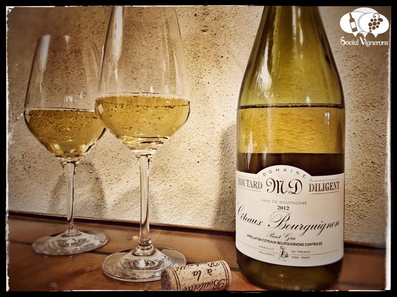 2012 Domaine Moutard Diligent Coteaux Bourguignons Pinot Gris, Burgundy
