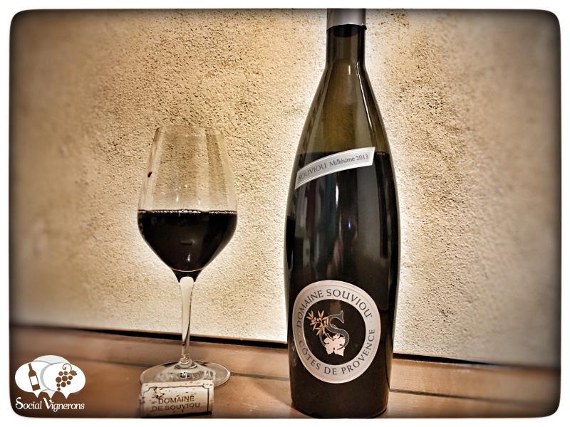 2013 Domaine de Souviou Rouge, Red Côtes de Provence Wine