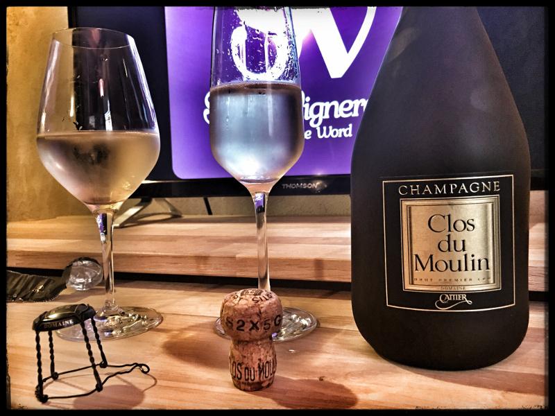 Champagne Cattier Clos du Moulin Domaine Premier Cru Brut: Smooth & Vibrant!