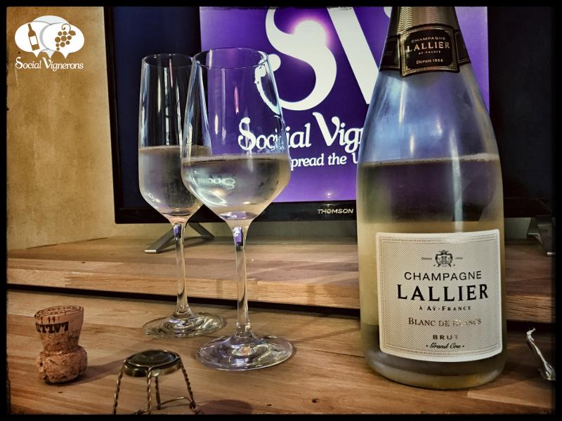 Champagne Lallier Blanc de Blancs Grand Cru Brut : Elegant & Refined !