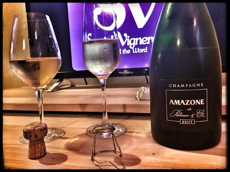 Champagne Amazone de Palmer & Co Brut: Intense & Spicy!