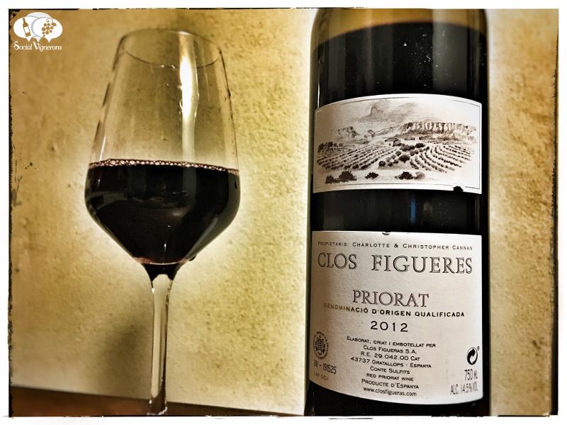 2012 Clos Figueres, Priorat