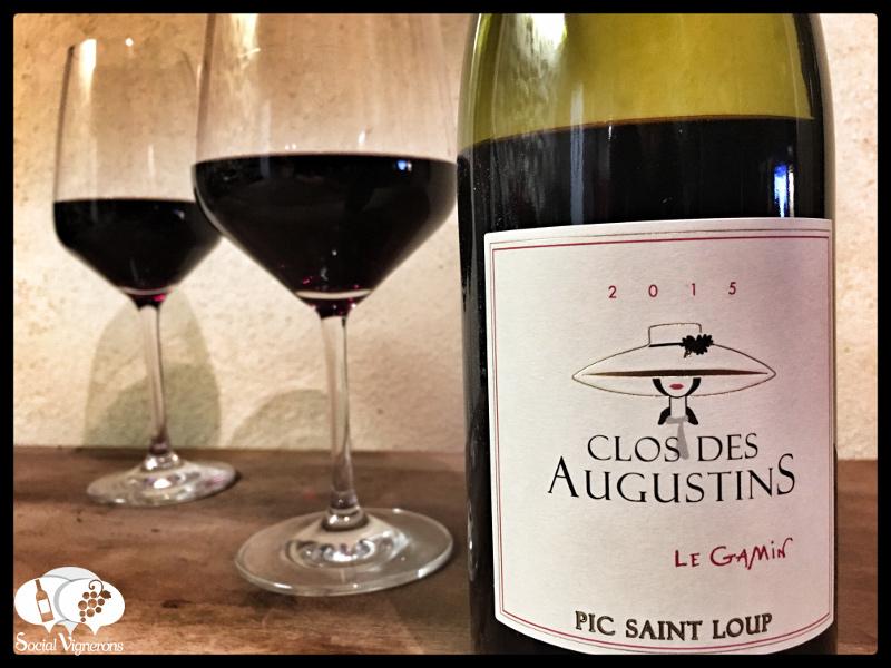 2015 Clos Saint Augustin Pic Saint Loup Le Gamin, Languedoc