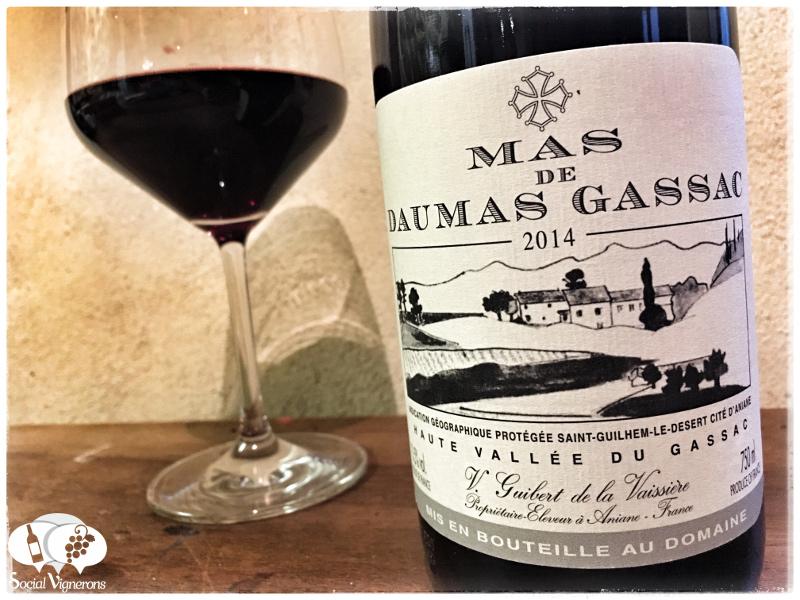 2014 Mas de Daumas Gassac, Saint-Guilhem-le-Desert IGP, Languedoc