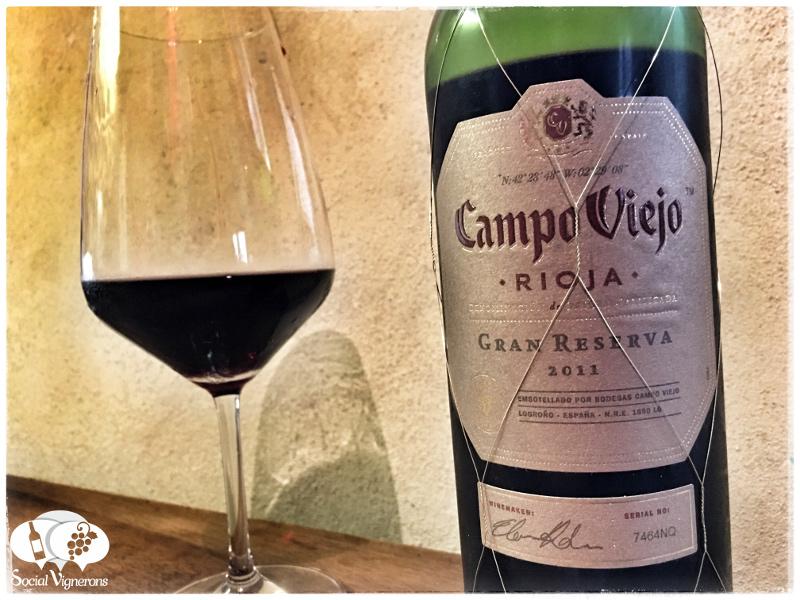 2011 Campo Viejo Gran Reserva, Rioja