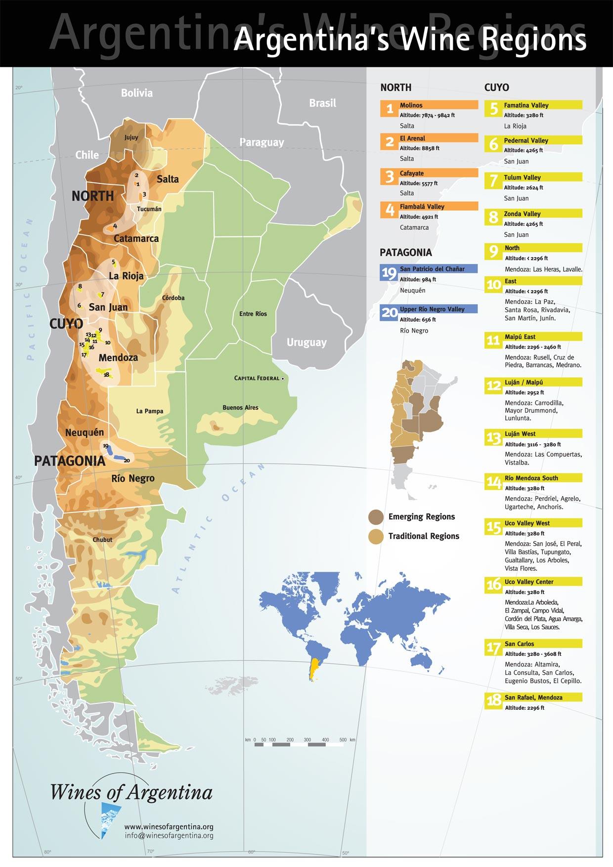 Patagonia Wine Region Argentina Social Vignerons