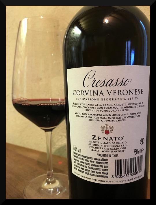 Kết quả hình ảnh cho zenato cresasso corvina veronese