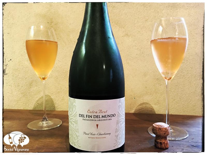 Bodega Del Fin del Mundo Extra Brut Sparkling Pinot Noir – Chardonnay, Patagonia, Argentina