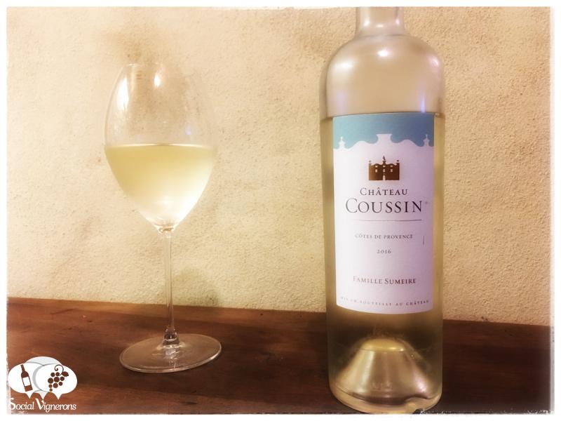 2016 Famille Sumeire Château Coussin Côtes de Provence Blanc, France