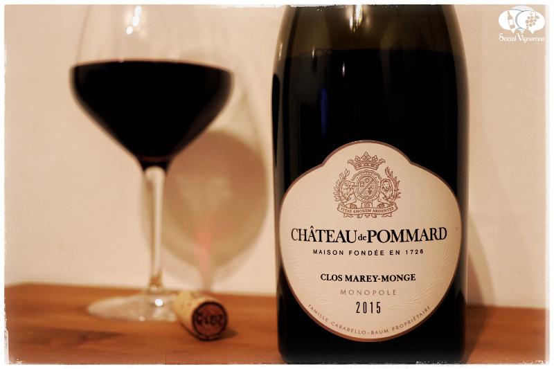 2015 Château de Pommard Clos Marey-Monge Monopôle, Top Burgundy Pinot Noir