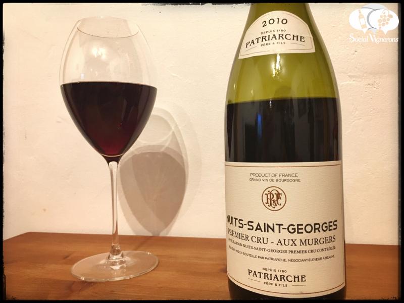 Patriarche Nuits-Saint-Georges Aux Murgers Pinot Noir