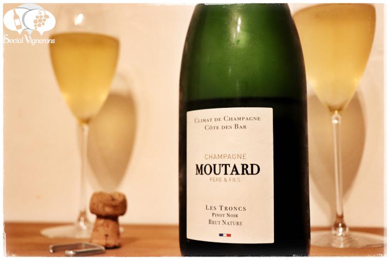 Moutard Père et Fils Climat de Champagne Les Troncs Pinot Noir Brut Nature, Côte des Bar