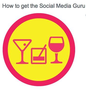 social media guru badge