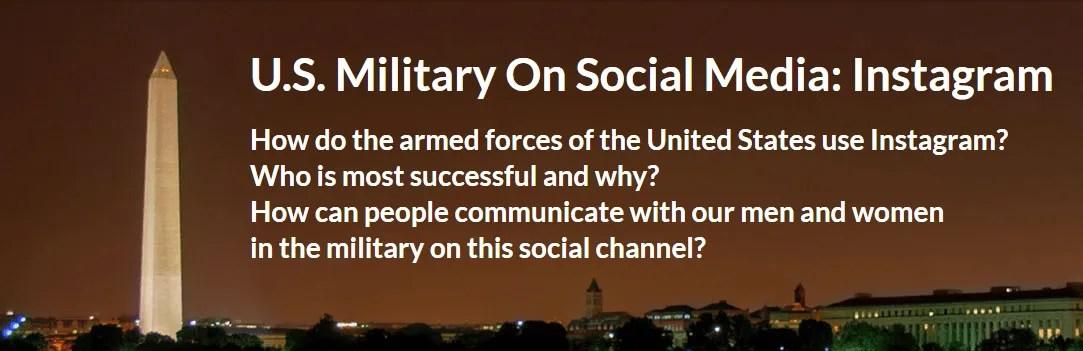 US Military On Instagram