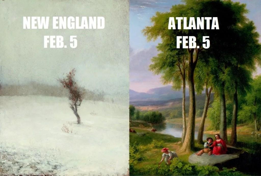 Museum Bowl - Boston Museum of Fine Art vs. Atlanta's High Museum - #SB51 - Social Media - Twitter