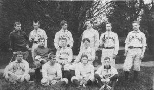 Gallaudet Baseball Team, 1886