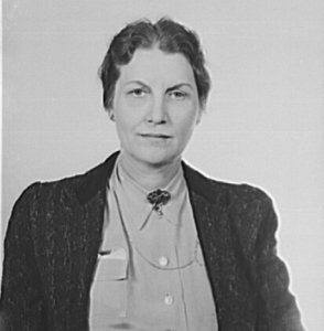 Miss Loula Dunn, Commissioner of Welfare for the State of Alabama