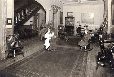 Reception Room of Hull House
