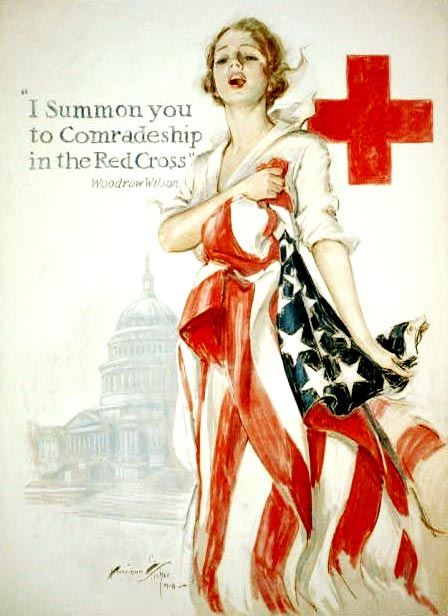 Red Cross Recruitment Poster, World War I
