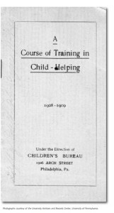 A Course of Training in Child-Helping