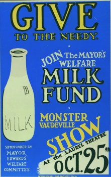 Give to the needy: Join the mayor's welfare milk fund