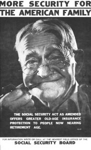 Poster Promoting 1939 Changes to Social Security Act